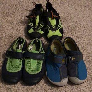 3-Pairs of Boys Swim Shoes (Bundle)